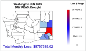 Pacific Northwest Agricultural Insurance Commodity Loss Dashboard